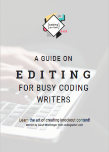 Editing guide cover
